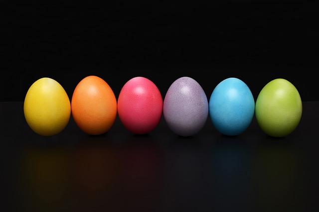 šest vajíček