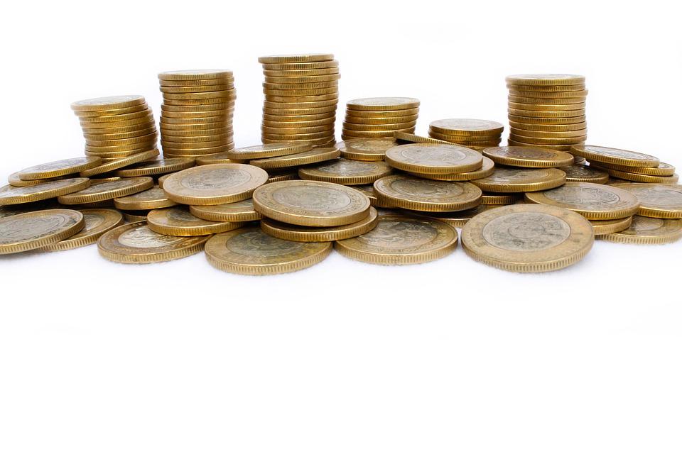 rozházené mince